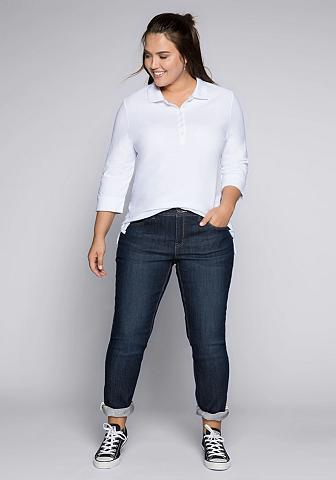 Sheego Stretch-Jeans KIRA in schmaler Passfor...