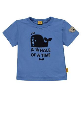 STEIFF Marškinėliai su Wal raštas