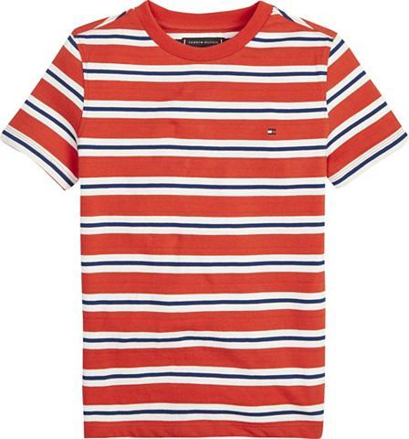TOMMY HILFIGER Marškinėliai »STRIPY CREW NECK S/S«