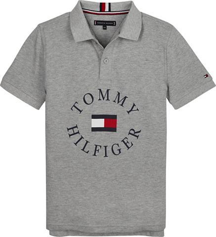 TOMMY HILFIGER Polos »HILFIGER GRAPHIC Polo marškinėl...