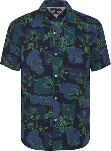 TOMMY HILFIGER Hawaiihemd »PALM TREE PRINT SHIRT S/S«...