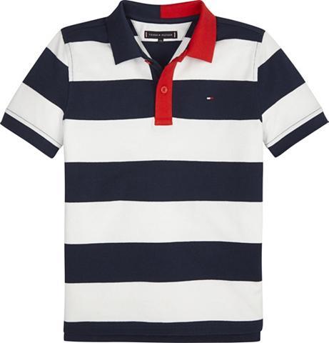 TOMMY HILFIGER Polos »STRIPY PIQUE Polo marškinėliai ...