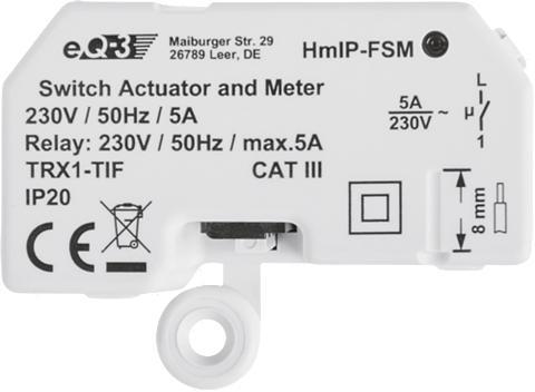 Homematic IP Smart Home »Schalt-Mess-Aktor - Unterp...