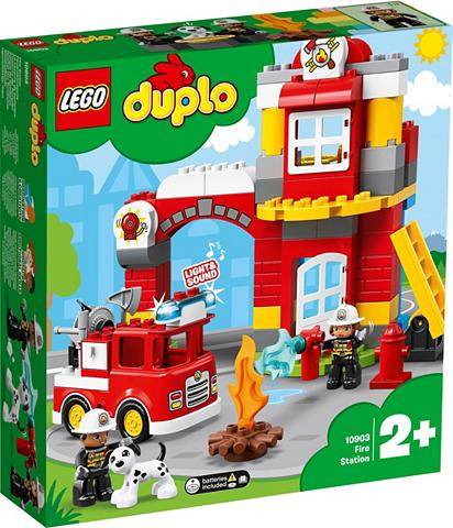 LEGO ® Konstruktionsspielsteine »Feuerwehrw...