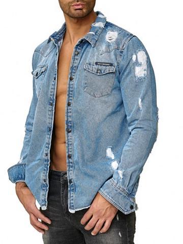 REDBRIDGE Herren džinsiniai marškinėliai su saga...