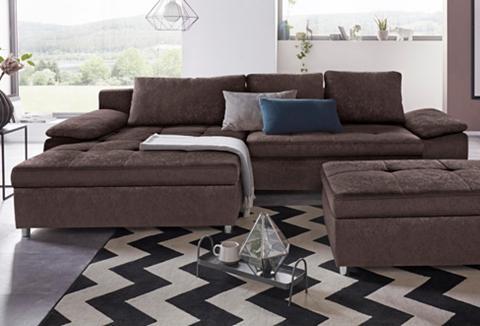 SIT&MORE Sit&more Kampinė sofa »Labene« in XL a...