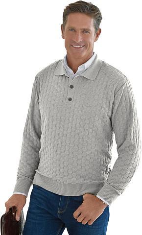 MARCO DONATI Megztinis in kühlend strukturierter ko...