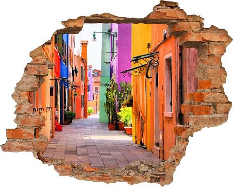 3D-Wandtattoo »Alley« selbstklebend