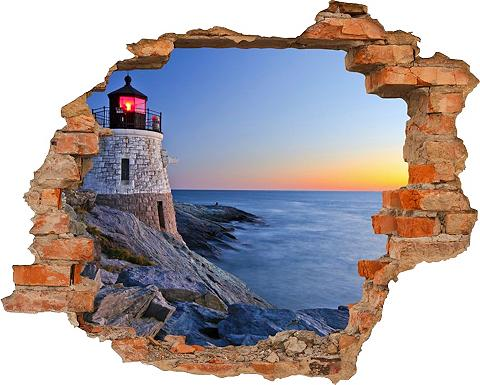 3D-Wandtattoo »Lighthouse« selbstklebe...