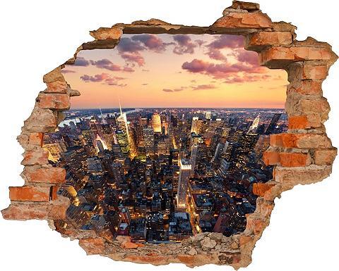 3D-Wandtattoo »New York« selbstklebend...