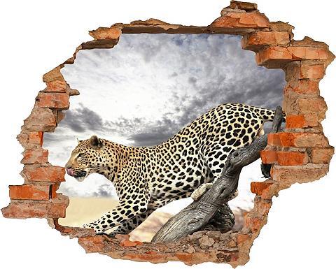 3D-Wandtattoo »Panther« selbstklebend