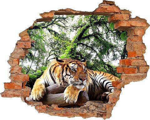 3D-Wandtattoo »Tiger« selbstklebend