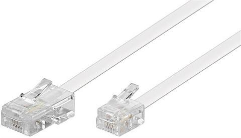 Goobay Modularanschlusskabel »RJ45-Stecker > ...