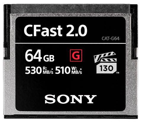 SONY CFast-Speicherkarte »CFast 2.0 64GB«
