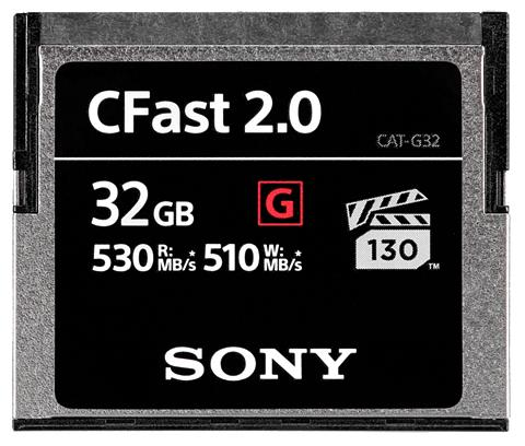 SONY CFast-Speicherkarte »CFast 2.0 32GB«
