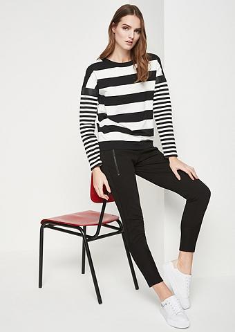 COMMA Longsleeve-Sweater su dryžuotas raštas...