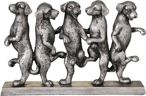Ambiente Haus Dekoratyvinė figurėlė »Hunde Tanz« ant...