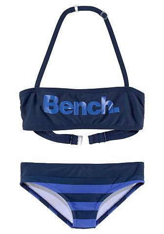 BENCH. Bikini maudymosi kostiumėlis su großem...