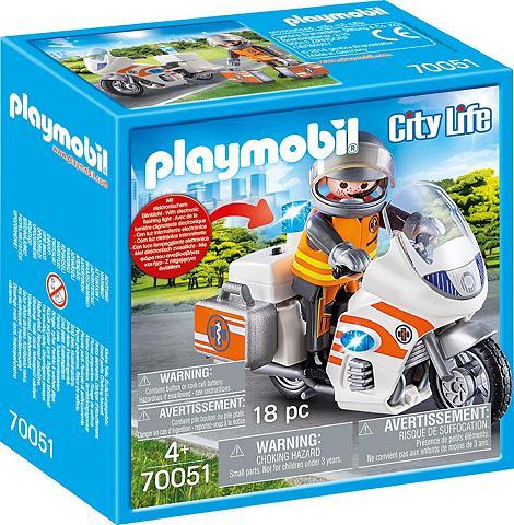 PLAYMOBIL ® Notarzt-Motorrad su Blinklicht (7005...