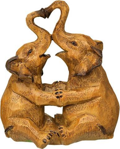 Ambiente Haus Dekoratyvinė figurėlė »Elefanten-Paar«...