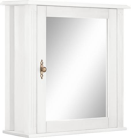 WELLTIME Spintelė su veidrodžiu »Kaolin«