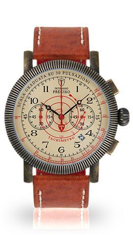 DETOMASO Chronografas- laikrodis »PRECISO ANTIQ...