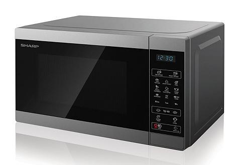 SHARP Mikrobangų krosnelė YC-MG02E-S 800 W