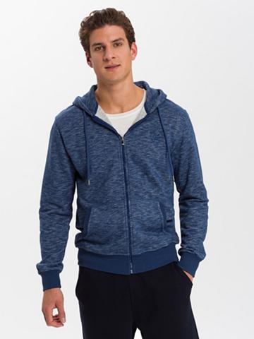 CROSS JEANS ® Megztinis su gobtuvu »25167«
