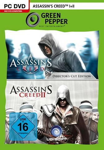 UBISOFT Assassin's Creed 1 + 2 PC
