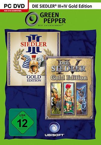 UBISOFT Die Siedler III + IV Gold Edition PC