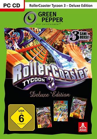 ATARI Rollercoaster Tycoon 3 Deluxe PC