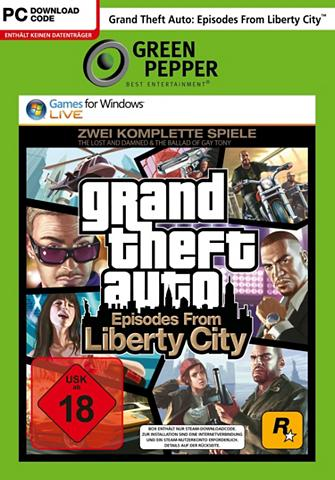 ROCKSTAR GAMES GTA: Episodes from Liberty City PC