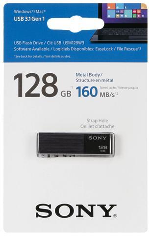 SONY USB laikmena »Micro Vault USM-W 128GB ...