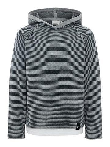 NAME IT Dryžuotas megztas megztinis