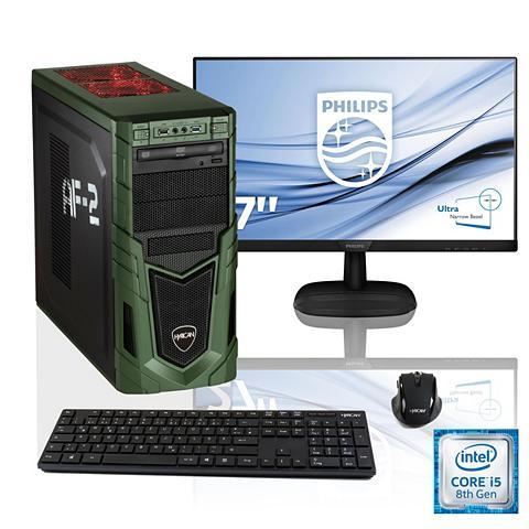 HYRICAN Žaidimų PC i5-8400 GTX 1050 Ti 16GB RA...