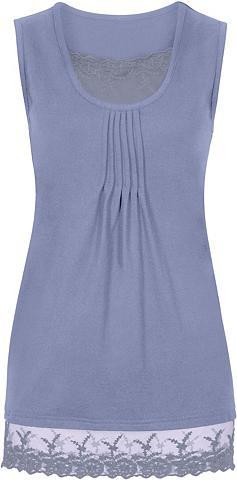 CLASSIC BASICS Marškinėliai be rankovių su kantas im ...