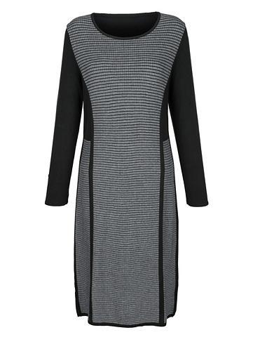 MONA Megzta suknelė su Strukturstrick