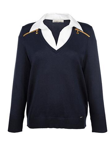 MONA 2 in 1 megztinis su Bluseneinsatz