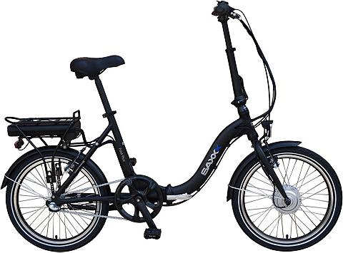 SAXXX E-Bike »Foldi Plus« 3 Gang Shimano Nex...