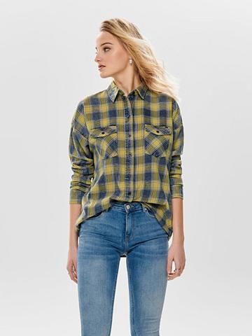 ONLY Languotas džinsiniai marškinėliai