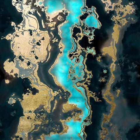 Leonique Acrylglasbild »Abstrakte Kunst«
