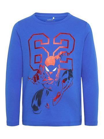 NAME IT Su Spiderman raštuotas Marškinėliai su...