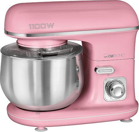 CLATRONIC Küchenmaschine KM 3711 pink 1100 W 5 l...