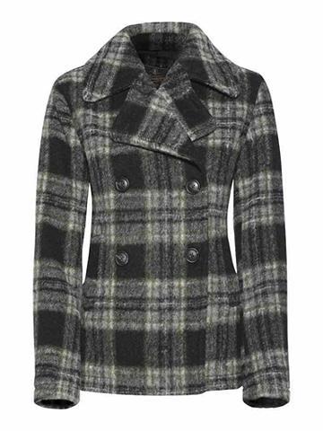 HERRLICHER Vilnonis paltas su puikus Karo-Muster