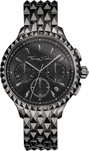 THOMAS SABO Chronograph »REBEL AT HEART WA0348-202...
