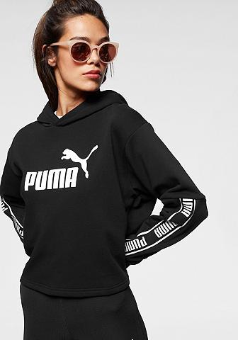 PUMA Sportinis megztinis su gobtuvu