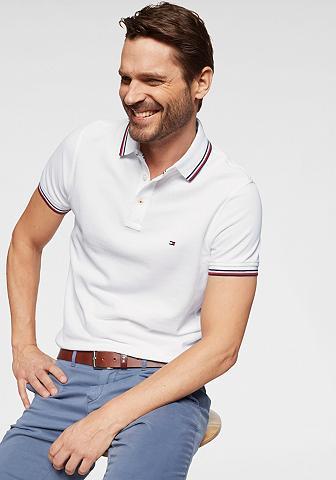 TOMMY HILFIGER Polo marškinėliai »TOMMY TIPPED siaura...