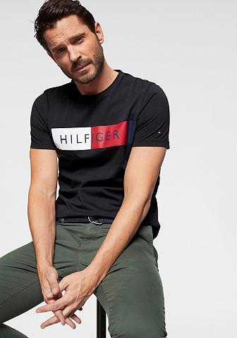 TOMMY HILFIGER Marškinėliai »STRIPE hilfiger TEE«