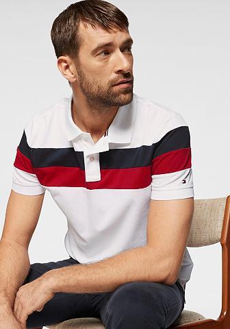 TOMMY HILFIGER Polo marškinėliai »Chest dryžuotas REG...