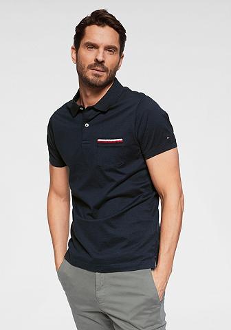 TOMMY HILFIGER Polo marškinėliai »TIPPED POCKET siaur...